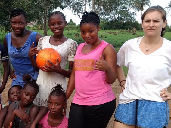 Alexis Wait, UArizona Paul D. Coverdell Fellow,  Peace Corps Sierra Leone, 2017-2018