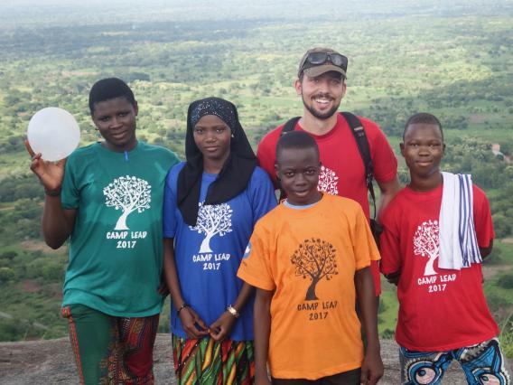 Jake Meyers, UArizona Paul D. Coverdell Fellow,  Peace Corps Benin, 2015-2017